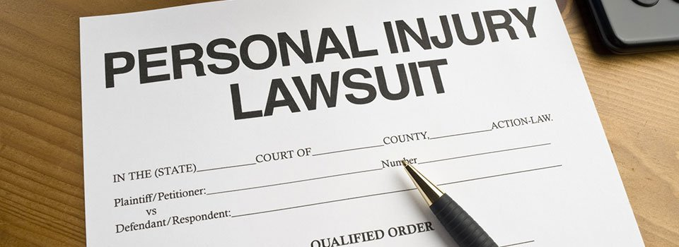 Personal Injury – The Basics of Filing a Personal Injury Lawsuit
